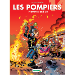 BD Les pompiers 14 Flamme and co