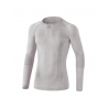 Erima Tee Shirt compression Manches Longues blanc