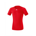 Erima Tee Shirt compression Manches courtes rouge