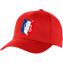 Casquette SP France Rouge