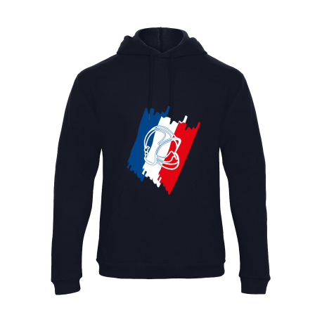 Sweat shirt Tricolore Marine