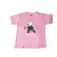 Pompy Tee shirt Rose