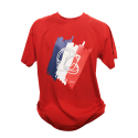 Tee shirt Tricolore Rouge