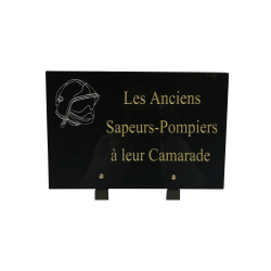 Plaque granit ASP à son Camarade