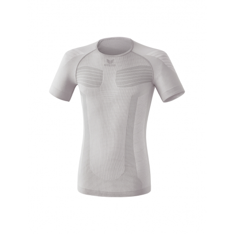 Erima Tee Shirt compression Manches courtes blanc