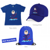 Kit pompier enfant bleu royal